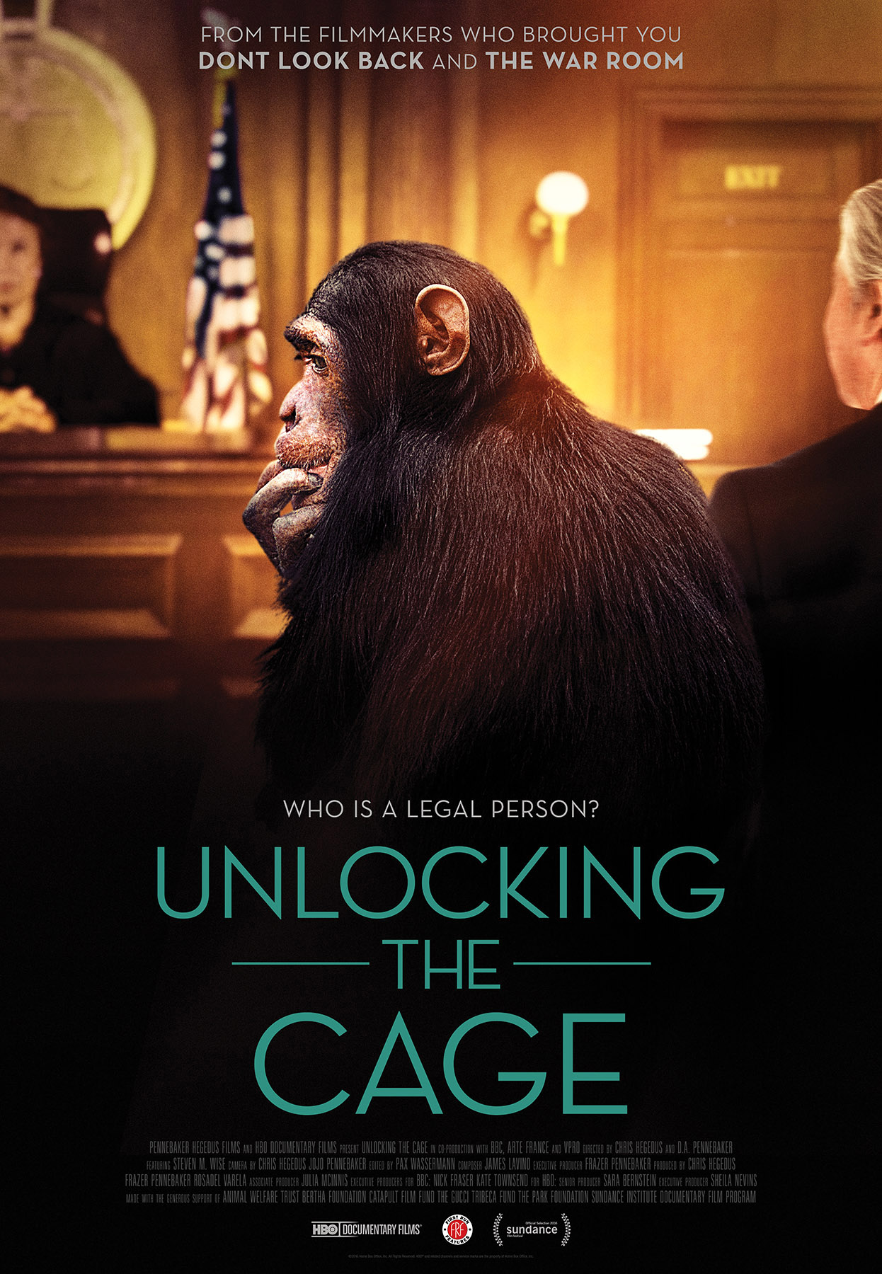 UNLOCKING THE CAGE MOVIE REVIEW World A Note