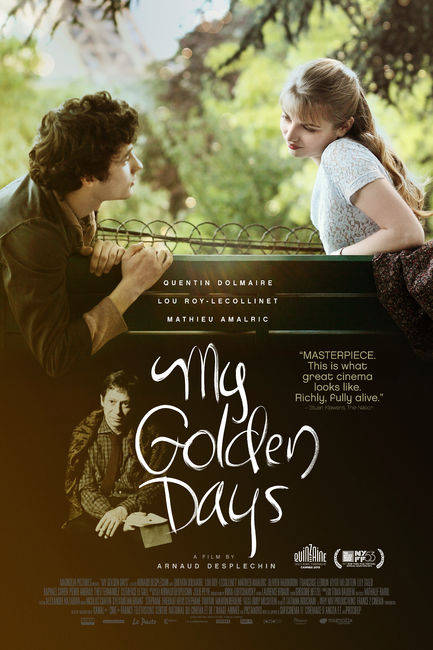 MY GOLDEN DAYS: ARNAUD DESPLECHIN'S LATEST MOVIE IS A BEAUTIFUL TALE OF LOVE AND COMING OF AGE SHOWCASING THE IMPRESSIVE TALENTS OF NEWCOMERS QUENTIN DOLMAIRE AND LOU ROY-LECOLLINET
