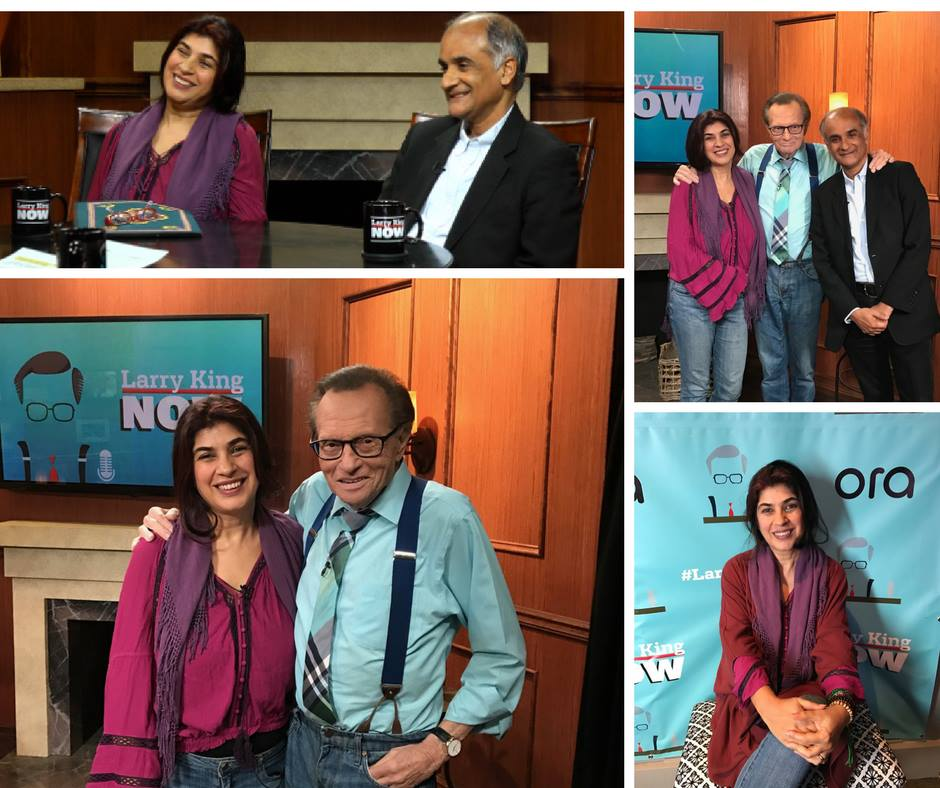 ON FINDING HAPPINESS: LARRY KING INTERVIEWS AUTHORS MITRA RAHBAR AND PICO IYER